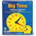 Big Time™ Learning Clock Classroom Kit