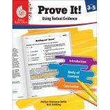 Prove It! Using Textual Evidence, Levels 3-5