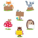 Designer Cut-Outs, Woodland Friends, 6