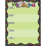 We Read Emoji 17 x 22 Smart Poly™ Chart