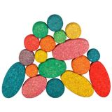Korxx Eco-Rounds with Storage, Assorted, 40 pieces