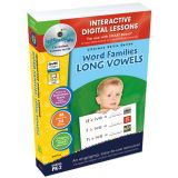 Interactive Whiteboard Lesson Plans, Word Families: Long Vowels