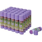 Creativity Street® Glue Stick, Purple, .28 oz., Box of 30