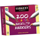 Sargent Art® Best-Buy Marker Assortment, Broad Tip