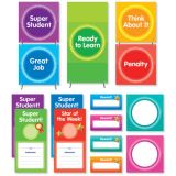 Color Your Classroom! Behavior Clip Chart Mini Bulletin Board Set