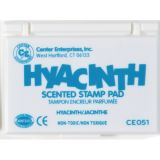 Scented Stamp Pad, Hyacinth/Turquoise