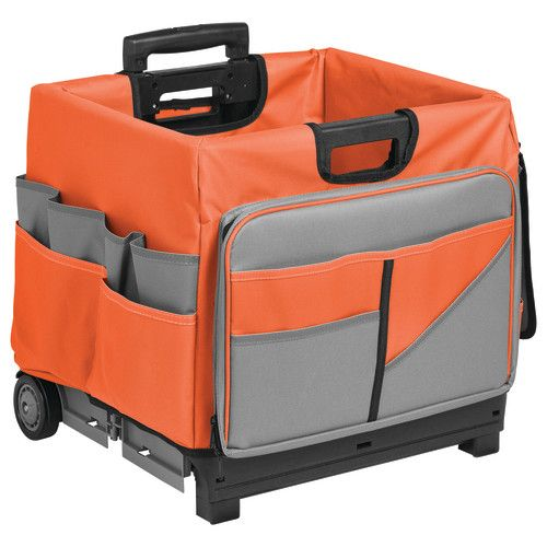 Exceptionnel MemoryStor® Rolling Cart U0026 Organizer Bag, Orange