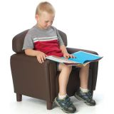 Just Like Home Preschool Chair, Enviro-Child Upholstery, Chocolate