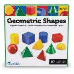 Large Geometric Shapes, Set of 10