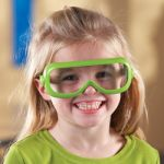 Primary Science Safety Glasses, 6 pairs in stand