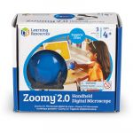 Zoomy 2.0 Handheld Digital Microscope, Blue