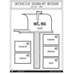 I'm Lovin' Lit Interactive Notebook, Vocabulary, Grades 4-5