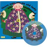 Classic Books with Holes plus CD, There Was an Old Lady Who Swallowed a Fly