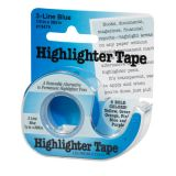 Removable Highlighter Tape, Blue