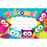 Owl-Stars!® Welcome! Recognition Awards
