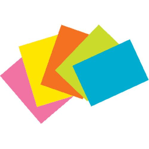 super bright index cards 4 x 6 unruled pac1721