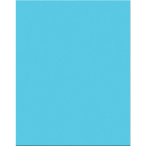 Premium Coated Poster Board 22 X 28 25 Sheets Light Blue