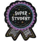 Super Student Ribbon Reward Badges