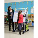 Royal® Reading Writing Center with Tech Tub2®, Holds 12 devices