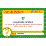 Curriculum Mastery® Math Game, Grade 8