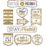 Clingy Thingies® Accents, Confetti Positive Sayings