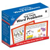 CenterSOLUTIONS™ Task Cards: Word Problems, Grade K
