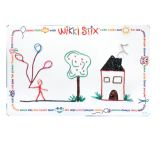 Wikki Stix® Laminated Play Mat, 14 x 22