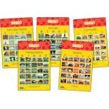 Picture Recognition Bingo Games, Set of all 5