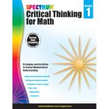 Spectrum® Critical Thinking for Math, Grade 1