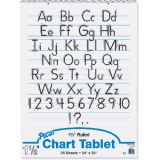 Chart Tablet, 24 x 32 Ruled 1 1/2 Tablet