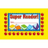 Super Reader Incentive Punch Cards