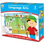 Language Arts File Folder Game, Grade 2