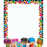 BlockStars!® Note Pad