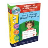 Interactive Whiteboard Lesson Plans, Word Families: Short vowels
