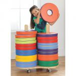 Donut™ Multi-Seat Cart with 24 Bi-Color Cushions