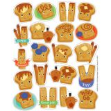 Cinnamon Scented Stickers