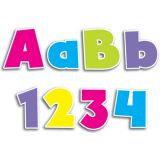 Designer Letters, Upper & Lowercase Bold Brights, 4