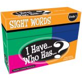 I Have...Who Has...? Sight Words Games, Grade 1