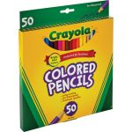 Crayola® Colored Pencils, 50 colors