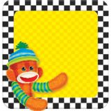 Sock Monkeys Note Pad