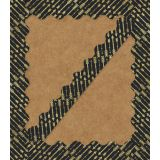 Sparkle Shine Gold Glitter Arrows Scalloped Border