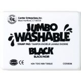 Jumbo Washable Stamp Pad, Black