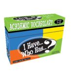 I Have...Who Has...? Academic Vocabulary, Grades 1-2