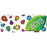 Laminated Hall Pass, Ladybug Boys Pass