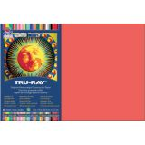 Tru-Ray® Fade-Resistant Construction Paper, 12 x 18, Red
