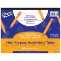 Handwriting Paper, 10 1/2 x 8, D'Nealian™ (K), Zaner-Bloser™ (1), 40 sheet tablet