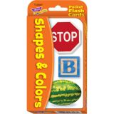 Colors & Shapes Pocket Flash Cards