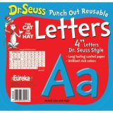 Dr. Seuss™ Punch Out Deco Letters, Blue