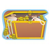 Creative Shapes Notepad, Treasure Chest, Large