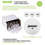 Table Tennis/Ping Pong Balls, Box of 144